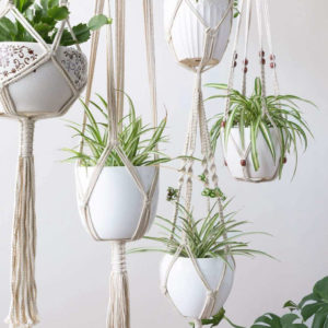 makramee pflanzenampeln handgemacht