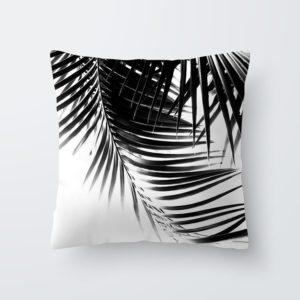 tropisch blätter kissenbezug